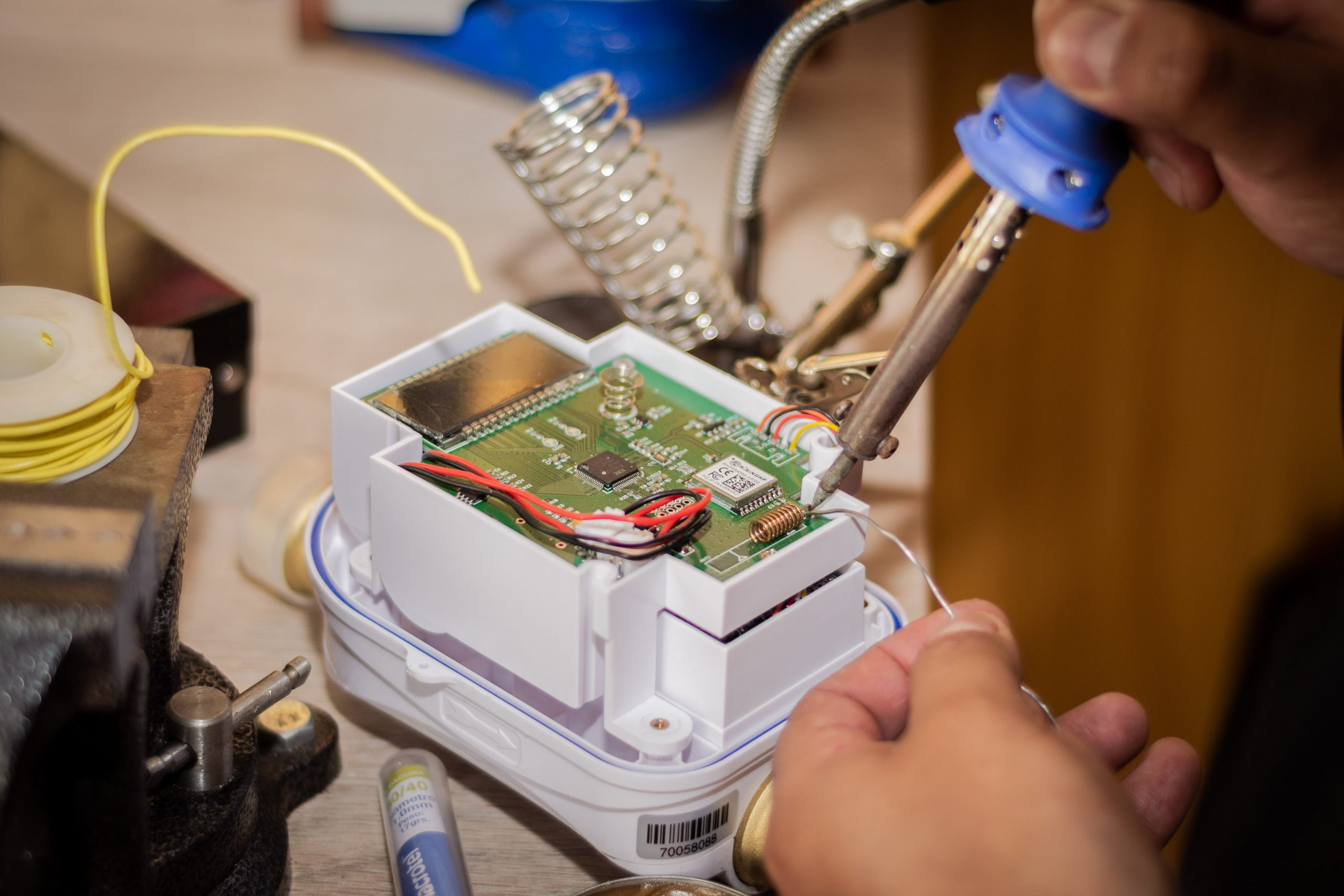 reparacion medidor inbteligente agua potable